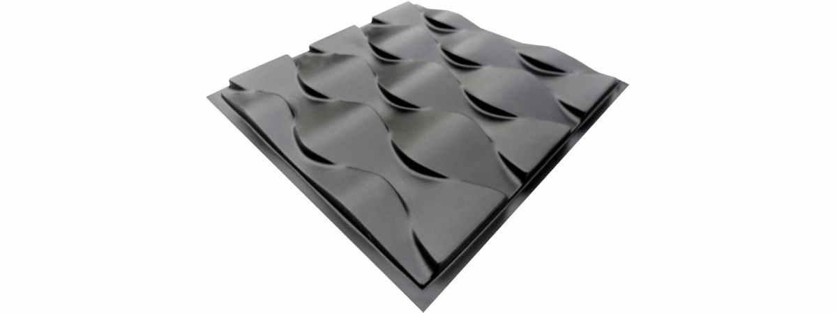 Форма для 3D панели №14 Размеры 500х500х18 мм