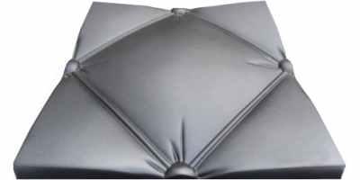 Форма для 3D панели №17 Размеры 500х500х18 мм