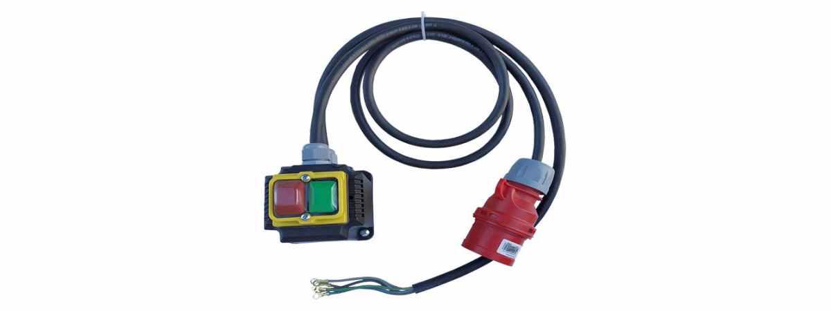 Запчасть бетономешалки Магнитный пускатель с кабелем и вилкой БС-315