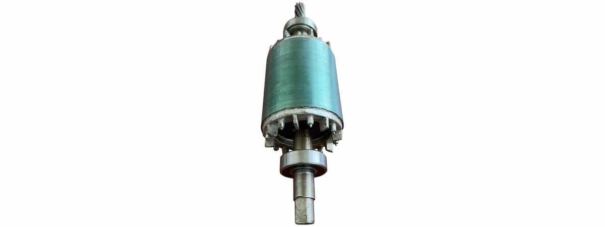 Запчасти бетономешалки якорь Одверк к БМ-140