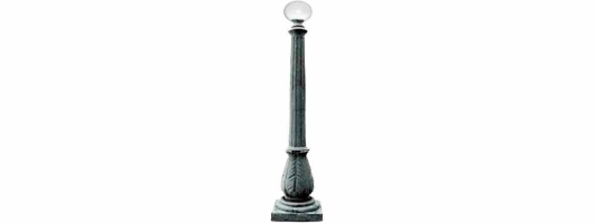 Форма Стеклопластиковый Фонарный столб №2 Размеры 1900 мм