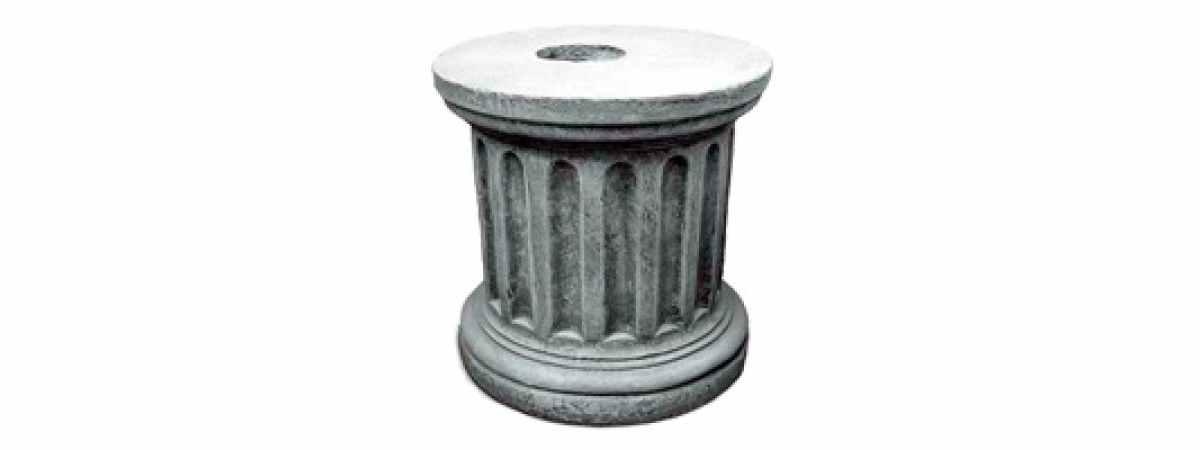 """Форма Стеклопластиковая тумба """"Круглая"""" Размеры 640х480 мм"""