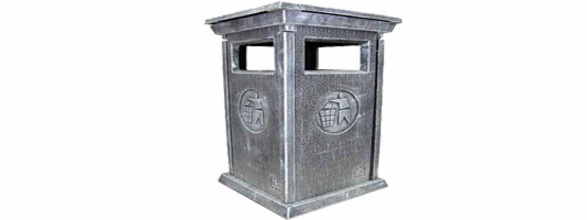 Форма Стеклопластиковая Урна №4 Размеры 950х550х550 мм