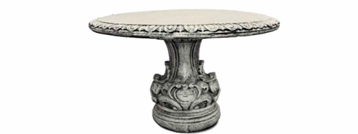 """Форма Стеклопластиковый стол """"Барокко"""" Размеры 810х1070 мм"""