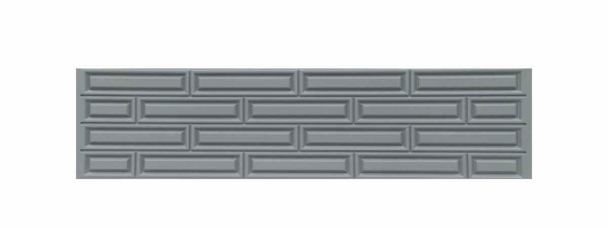 Формы заборов стеклопластиковые №В-54 Размеры 2000х500х40 мм