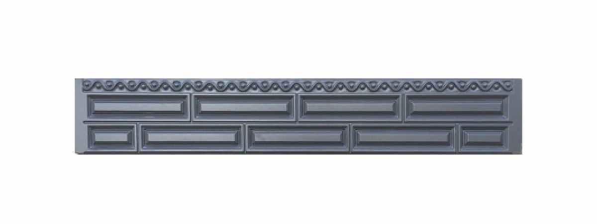 Формы заборов стеклопластиковые №В-71 Размеры 2000х300х40 мм