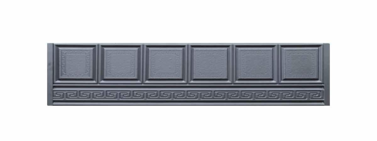 Формы заборов стеклопластиковые №В-60 Размеры 2000х500х40 мм