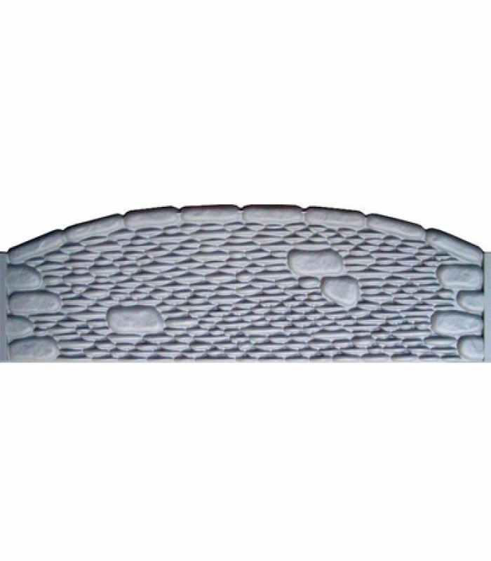 Формы заборов стеклопластиковые №23 Размеры 2000х500х40 мм