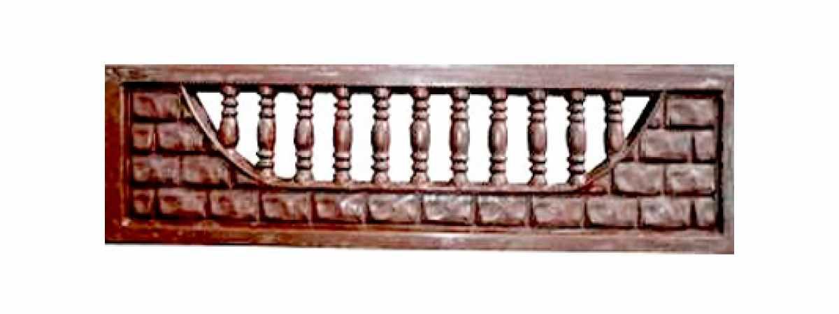 Формы заборов стеклопластиковые №3а Размеры 2000х500х40 мм