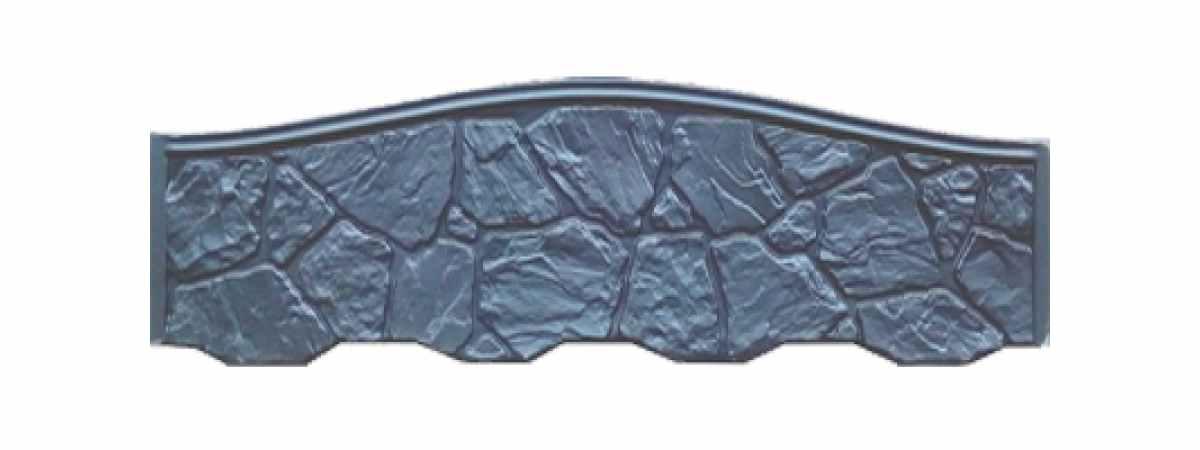 Формы заборов стеклопластиковые №171 Размеры 2000х600х40 мм