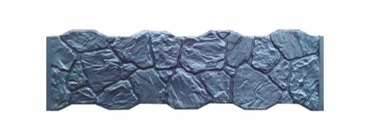 Формы заборов стеклопластиковые №173 Размеры 2000х500х40 мм