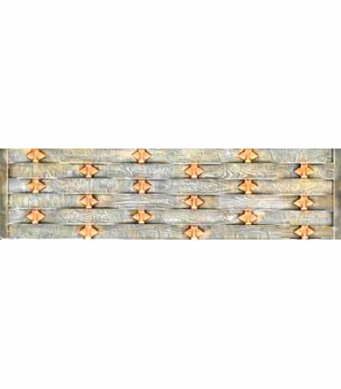 Формы заборов стеклопластиковые №71 Размеры 2000х500х40 мм