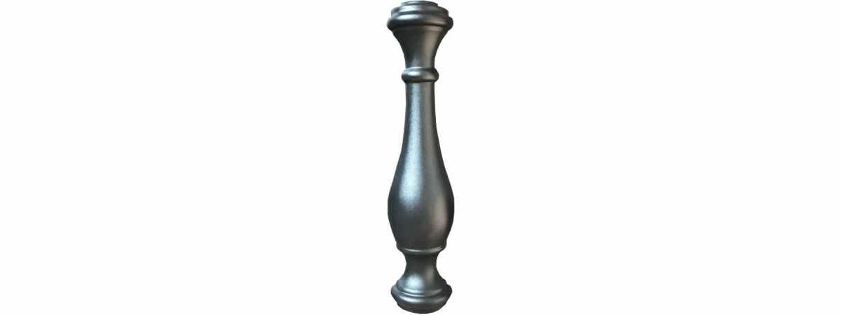 Форма для балясины Балясина №2 Размеры 700х160 мм