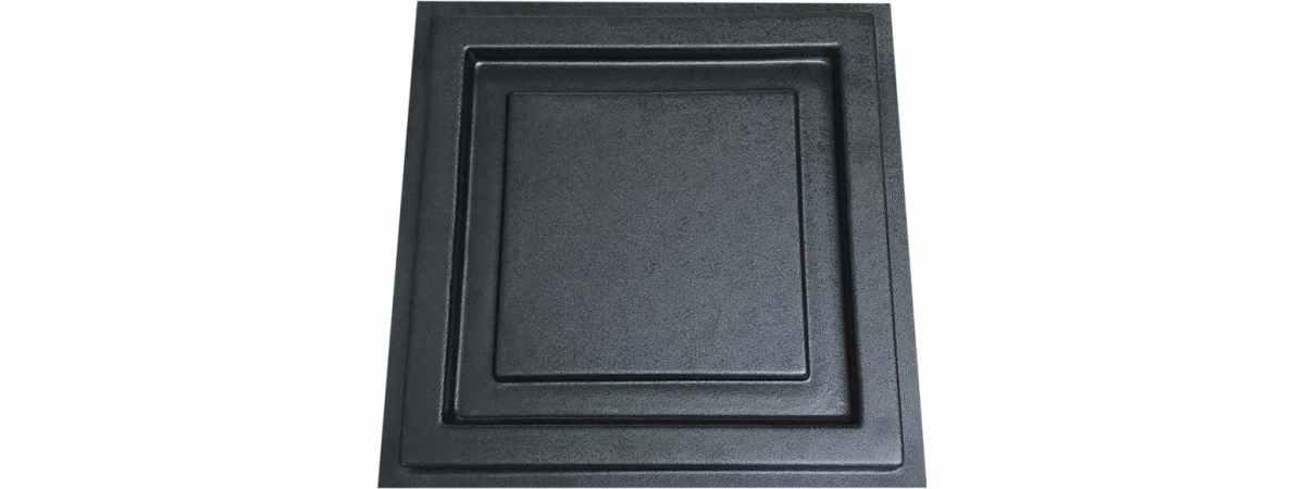 Форма для балясины - Подставка для накрытия колонны №1 Размеры 280х280х20 мм