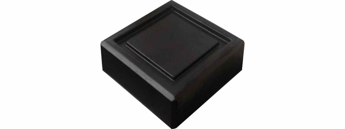 """Форма для балясины """"Дно колонны"""" №1 Размеры 300х300х100 мм"""