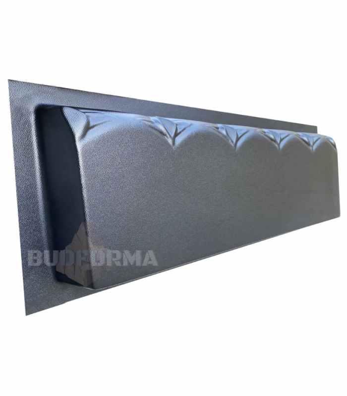 Форма для бордюра Узорный №5 Размеры 500х200х45 мм