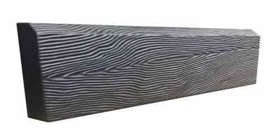 Форма для бордюра Дерево №6 Размеры 500х200х45 мм