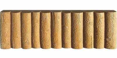 Форма для бордюра Колышки №7 Размеры 500х250х50 мм