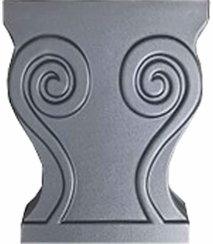 Форма для скамейки Ножка №1 Размеры 390х400х110 мм