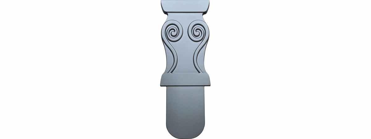 Форма для бетонного стола Ножка Размеры 400х700х40 мм