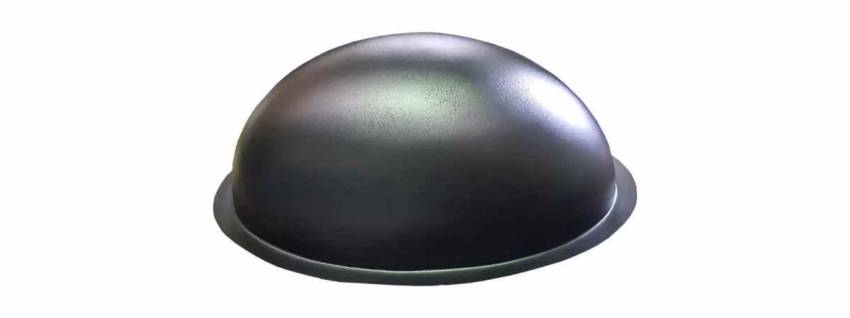 "Форма для парковки фигура ""Овал"" №6 Размеры 580х380х240 мм"