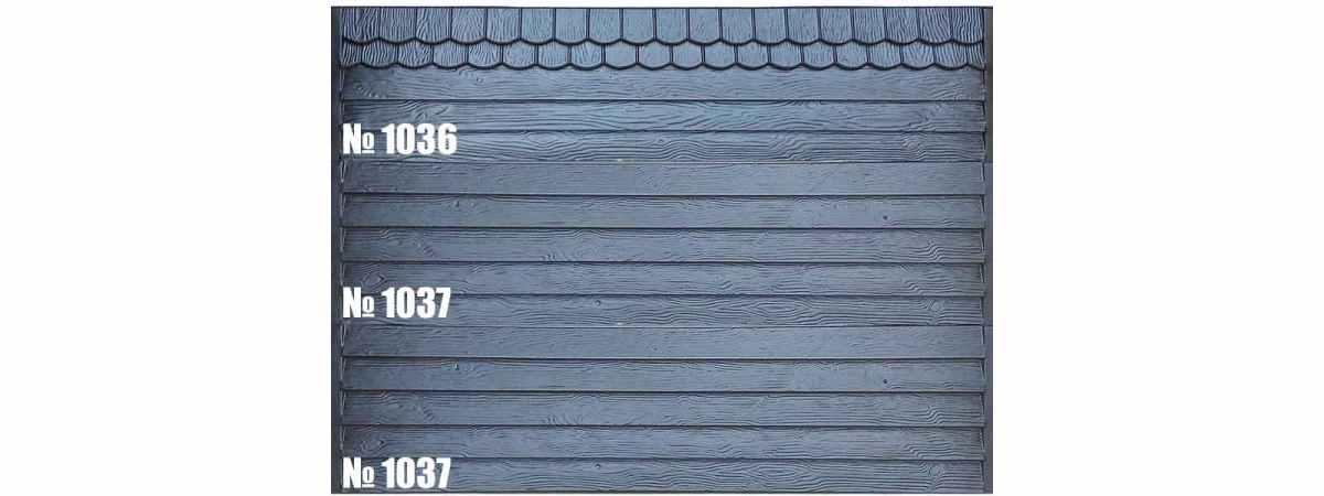 Форма для забора АБС №1037 Размеры 2000х500х40 мм