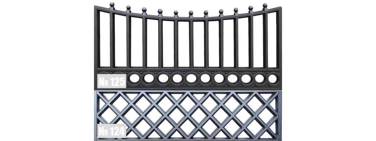Форма для забора АБС №125 Размеры 2000х1000х50 мм