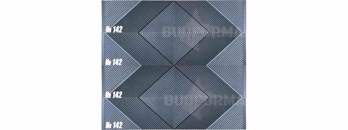"""Форма для забора """"Феникс"""" АБС №142 Размеры 2000х500х40 мм"""