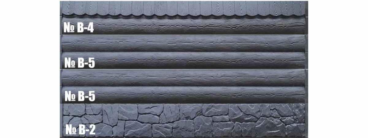 Форма для забора АБС № В-2 Размеры 3000х300х40 мм