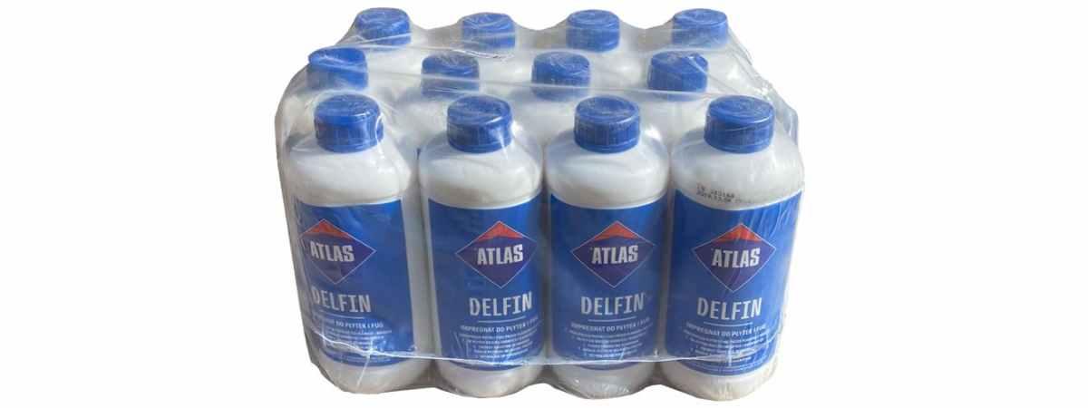 Атлас-Дельфин Atlas Delfin - Глянец для бетона Фасовка 1л, 5л