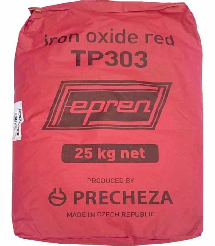 Пигмент для бетона Красный TP-303 Чехия Fepren Вес 25 кг