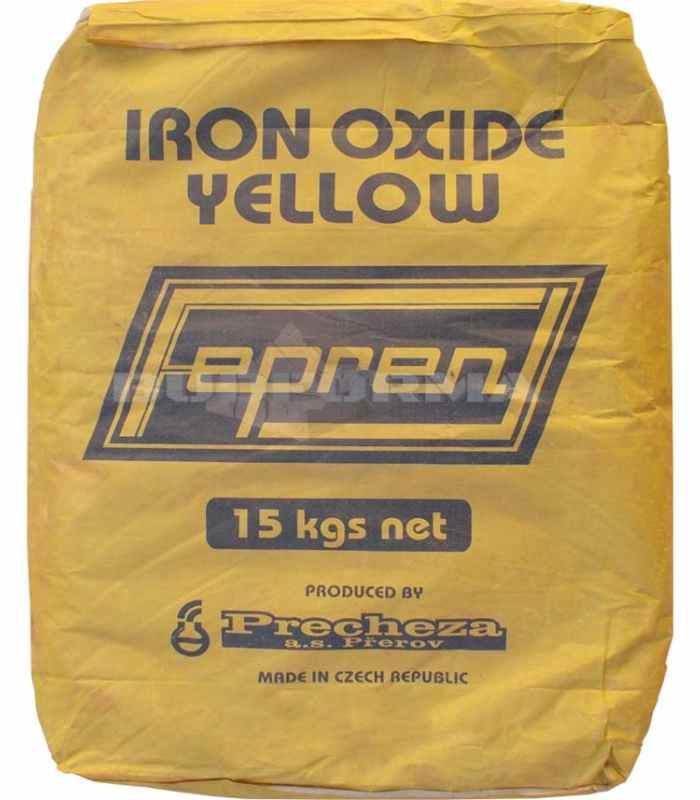 Пигмент для бетона Желтый Y-710 Чехия Fepren Вес 15 кг