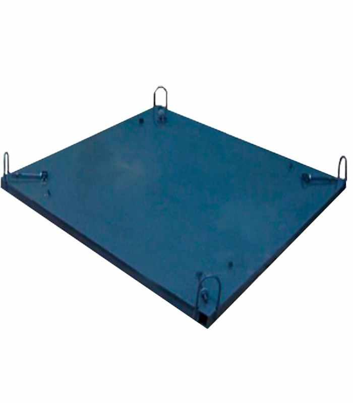 Форма для бетонного кольца Поддон 2000 мм