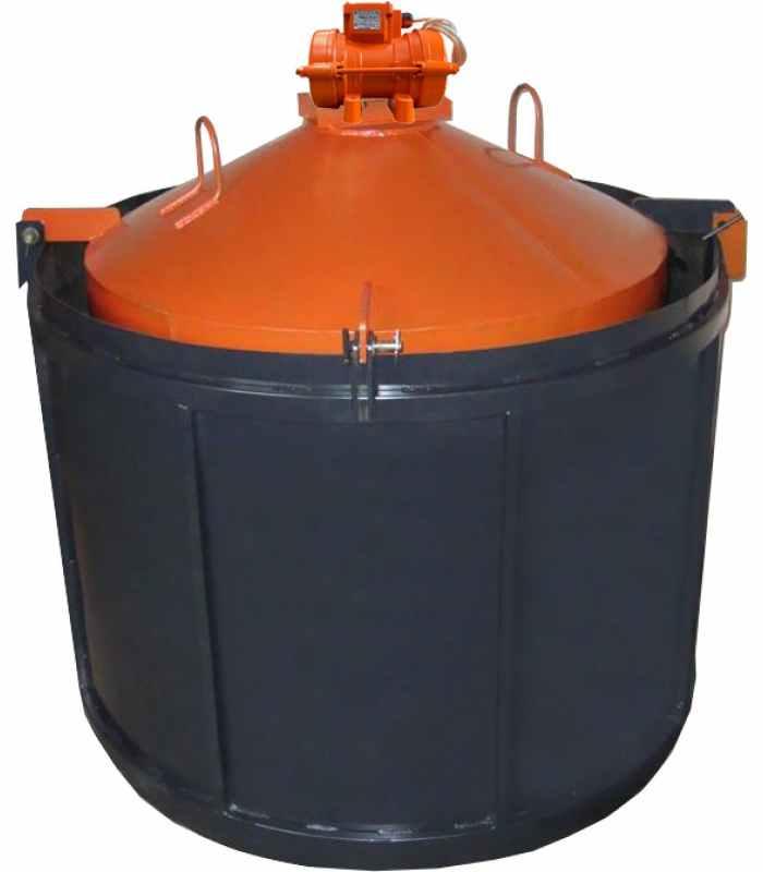 Форма для бетонных колец ФС-1500 с ИВ-98-1 шт Размеры 1680/1500/890/90 мм