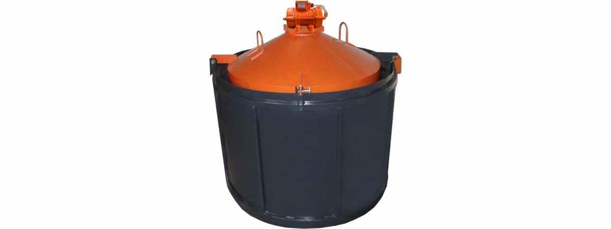 Форма для бетонных колец ФС-2000 с ИВ-98-1 шт Размеры 2200/2000/890/100 мм