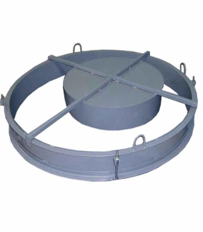 Форма для бетонных колец Крышка КД-1000 Размеры 1000/70