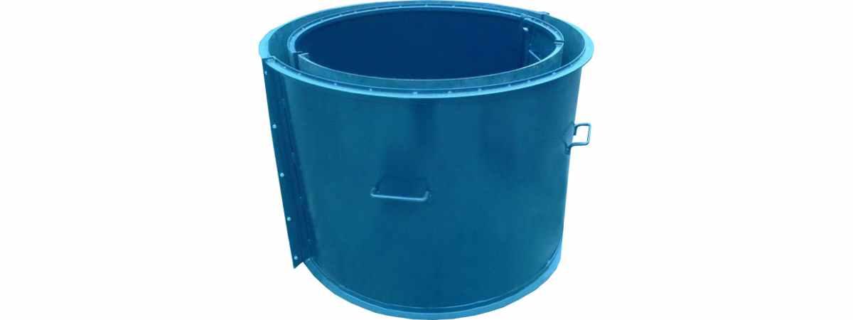 Форма для бетонного кольца КС-1200 Размеры 1380/1200/890/4 мм