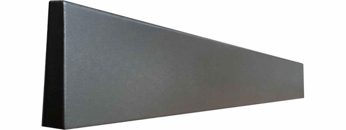 Форма для подставки под забор-цоколь Гладкий №2 Размеры 1920х140хH-120 мм