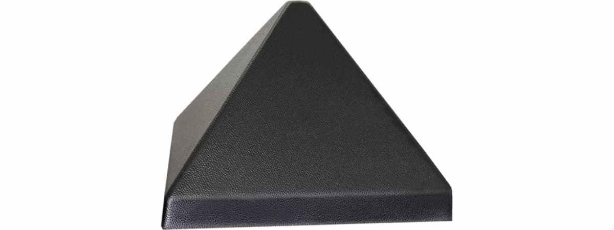 Форма для Крышки столба Пирамида №16-3 Размеры 160х160 мм