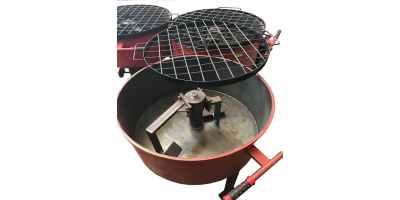 Бетоносмеситель для перемешивания смесей РПП-130 Объем груши 130 л