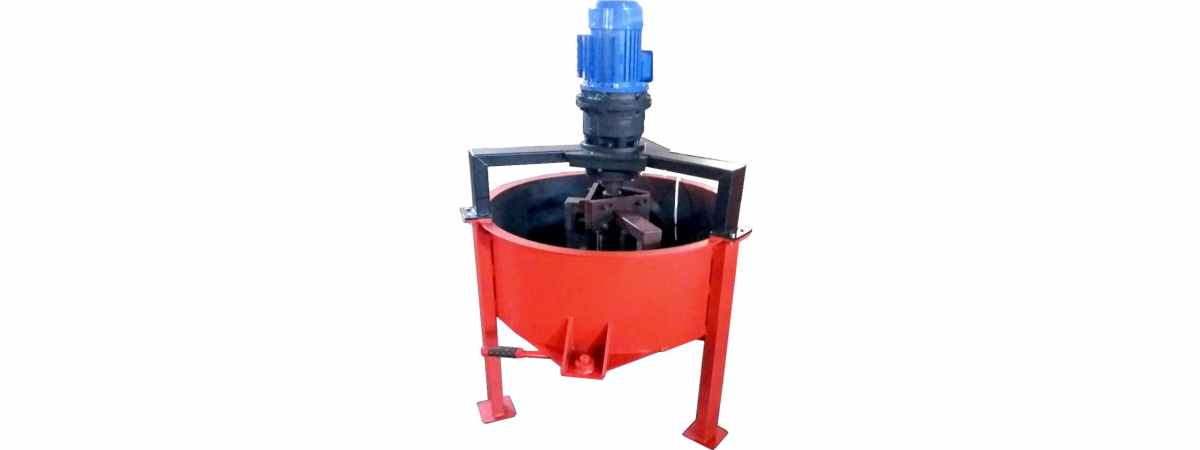Бетоносмеситель принудительный РПП-200 Н (380 Вт) Общий объём 200 л