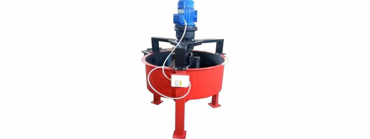 Бетоносмеситель принудительный РПП-200 Н (220 Вт) Общий объём 200 л