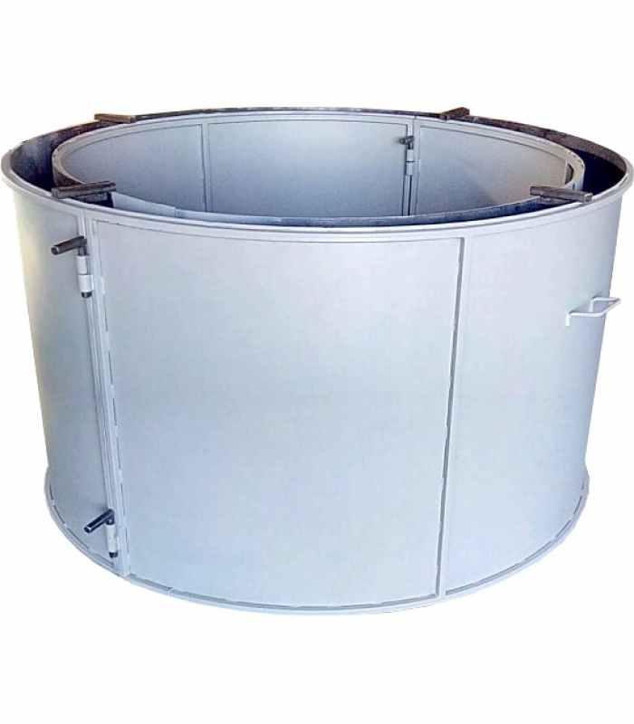 Форма кольца колодезного №7 стенка 2 мм, профильная труба 20х20