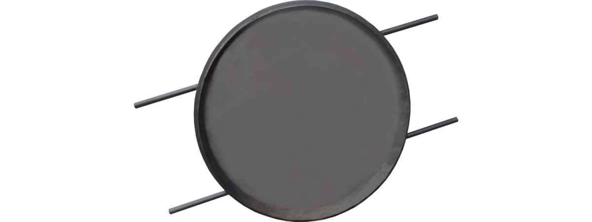 Форма крышки канализационного люка Размеры 780х800х70 мм