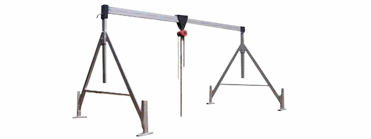 Кран козловой до 3000 кг Высота до балки 3,5 м