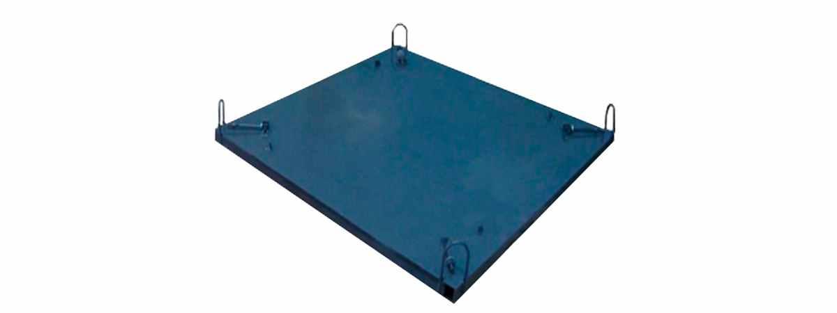 Поддон для формования бетонного кольца, днища, крышки Размеры 1500х1500 mm