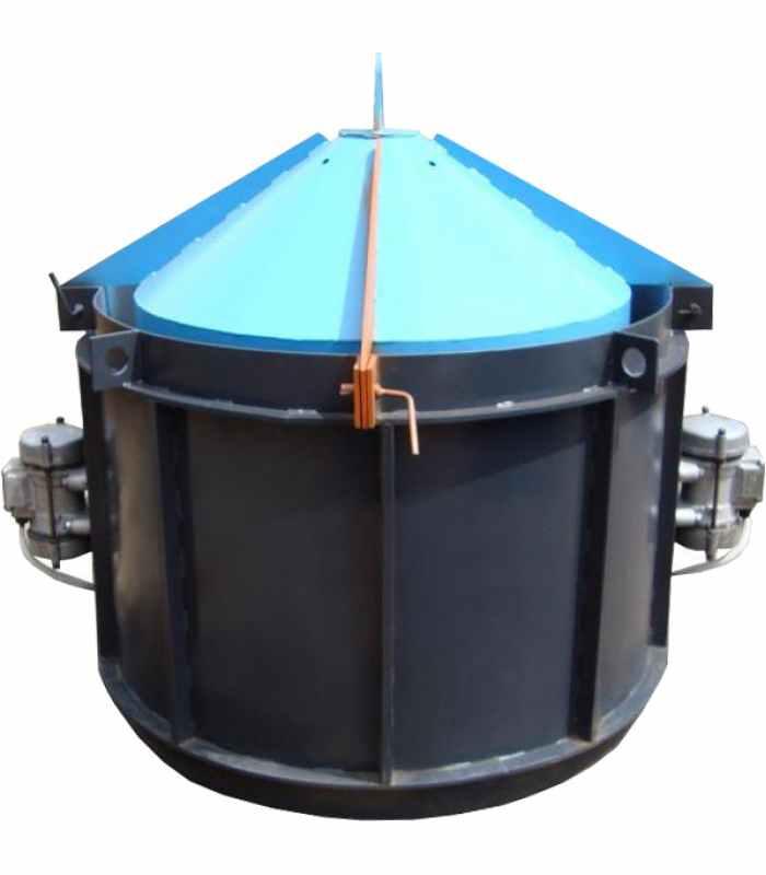 Виброформа -2000 усиленная (стенка 4 мм) с ИВ-99 Размеры 2200/2000/890/100 mm