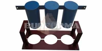 Матрица для шлакоблочного станка СШ-1 Состоит из пустотообразователя и прижимного пуансона