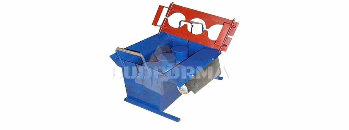 Станок для производства шлакоблоков СШ-1 Габариты 500х280х250 мм