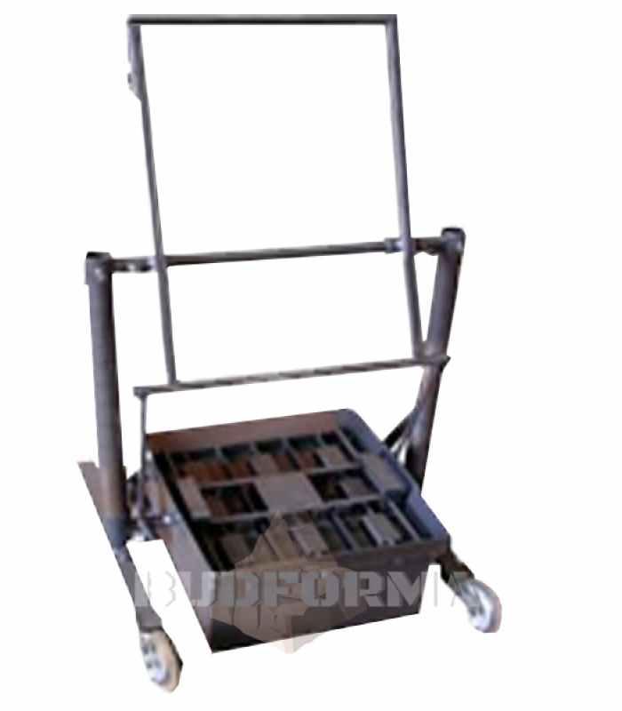 Станок для производства шлакоблоков простеночных блоков СК-3 Габариты 750х440х1550 мм